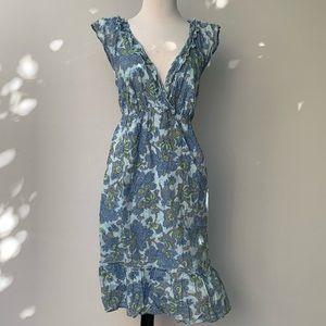 OLD NAVY Floral Sun Dress Size L